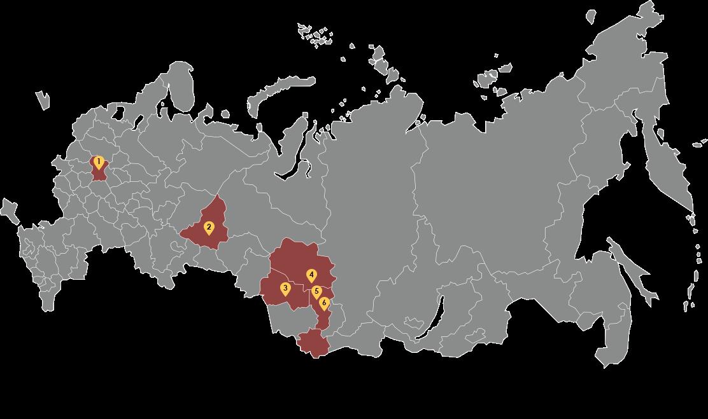 Защищаем бизнес во всех городах России